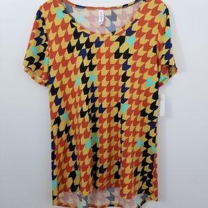 LuLaRoe Classic Short Sleeve Top Size L